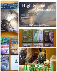choosing high homeschool curriculum the curriculum choice