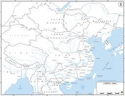 Map China Map Of Wwii China 1941