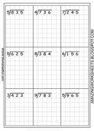 4th grade math worksheets division 3 digits by 1 digit 1 4th