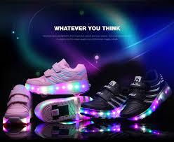 light up roller skate wheels children wheels roller shoes for girls boys led light up roller