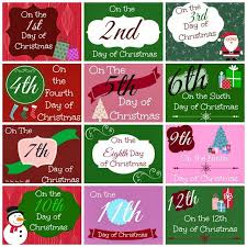 best 25 12 days ideas on 12 days of days of the