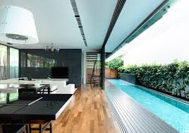the benefits of lap pools and their distinctive designs suburban
