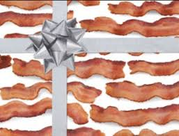 bacon wrapping paper free bacon themed wrapping paper thrifty living