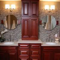 bathroom vanity mirror or medicine cabinet rta kitchen cabinets