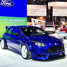 ford focus st modded get the jump on the focus rs with fifteen52 modded focus st