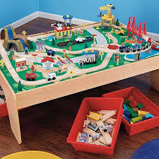 Thomas The Train Play Table Waterfall Mountain Train Set U0026 Table By Kidkraft Zanui
