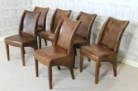 Dining Leather Chair Real Leather Dining Chairs Pair Of Dining Chairs White Genuine