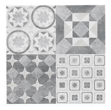 grey ceramic tile diy