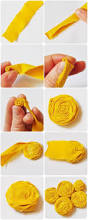 Flower Ideas Best 20 Fabric Flowers Ideas On Pinterest Easy Fabric Flowers
