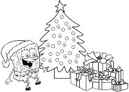 spongebob coloring mickey mouse christmas coloring free christmas