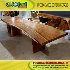 Acacia Wood Dining Room Furniture by Exotic Live Edge Acacia Wood Table Slab Conference Table Dining