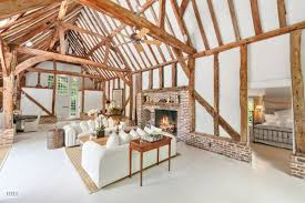 reconstructed 17th century barns in water mill asking 3 5m