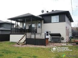 split level garage house plan w3490 detail from drummondhouseplans com