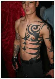 Tribal Torso - tribal designs arm and chest tribal arm n chest