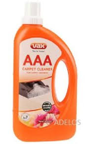 vax aaa carpet upholstery improved formula cleaning solution shoo