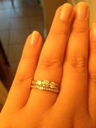 plus size engagement rings plus size brides whats your ring size weddingbee