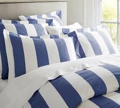 blue and white striped bedding pb classic stripe thread count