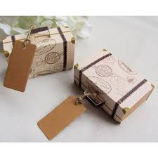 Suitcase Favors by 50pcs Suitcase Favor Boxes Salelab