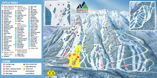 Utah Ski Resort Map by Mount Norquay Banff Alberta Canada Ski Resort Guide