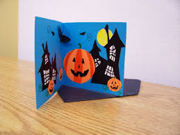 cute kids drawing happy halloween greeting card halloween kids