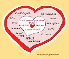 jesus u2013the valentine and the cardiologist catholic evangelizer