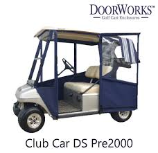 Club Car Ds Roof by Amazon Com Doorworks Hinged Door Golf Cart Enclosures Made