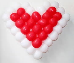 cheap balloons cheap heart shaped balloons gird net with 38 pcs 5 inch balloons
