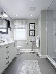 grey floor tile bathroom at home interior designing