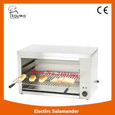 cuisine salamandre haute qualité comptoir commerciale en acier inoxydable matériel de