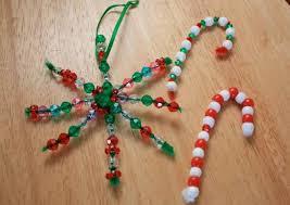 easy handmade bead ornaments marin mommies