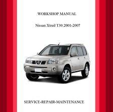 x trail car service u0026 repair manuals ebay