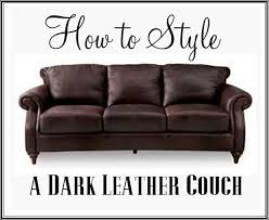 Leather Sofa Styles Best 25 Leather Couch Decorating Ideas On Pinterest Brown