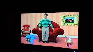 closing to blue u0027s clues rhythm and blue 1999 vhs video dailymotion