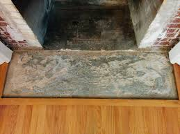 tile how to level uneven fireplace hearth concrete home