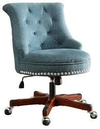 white office chair armless astonishing linon sinclair armless upholstered office chair in aqua