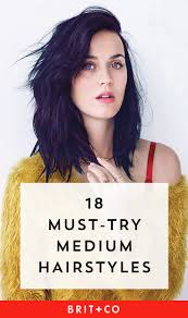 25 medium length hairstyles to try in 2017 brit co