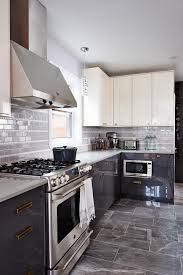 Gray And White Kitchen Cabinets 66 Gray Kitchen Design Ideas Decoholic