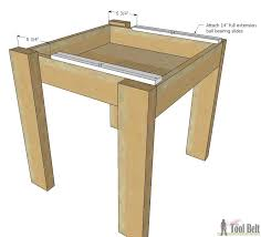 Kid Woodworking Projects Free by Simple Kid U0027s Table And Chair Set Her Tool Belt