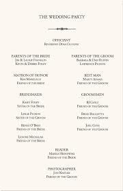 ceremony programs wedding sle wedding program wording endo re enhance dental co
