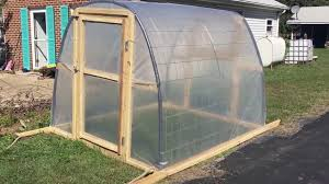 Inside Greenhouse Ideas by Diy Cheap Greenhouse Youtube