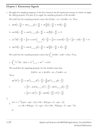 Resume Education Section Example by Signals And Systems With Matlab Applications Orchard Publications