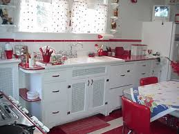 retro kitchen decorating ideas i could see this pink instead of though i like the