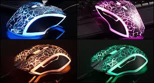 light up wireless gaming mouse rapoo v20 rgb lightning black optical gaming mouse mirp v20 fbk