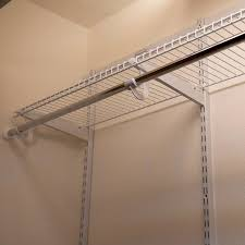Wall Mount Wire Shelving Install Wire Shelving