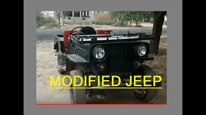 jonga jeep modified jeep open gedi dabwali sirsa youtube