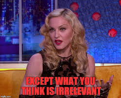Memes Lmp - madonna thinks you re irrelevant imgflip