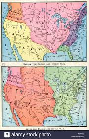 The Map Of North America by Maps Of North American British Spanish And French Colonies Before