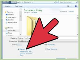how to make a booklet in word 12 steps with pictures wikihow