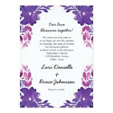 invitation for marriage painted watercolor flower wedding invitation wedding