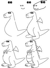 25 easy draw dragons ideas easy pencil